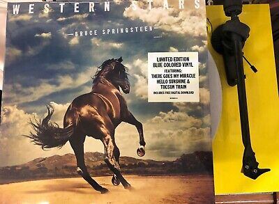 Bruce Springsteen Western Stars 2 x BLUE VINYL LP SET NEW
