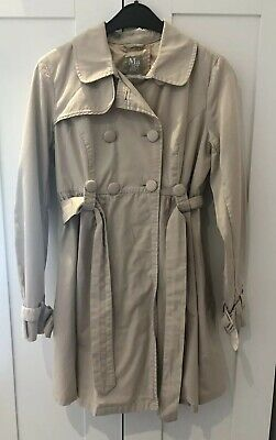 Topshop Maternity Trench Coat Size 8