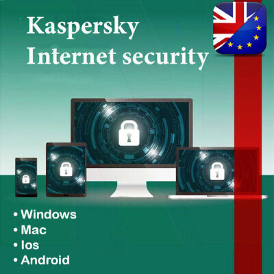 Kaspersky internet security 2019 1 Device 1 Year - Full Version