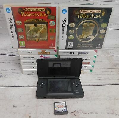 NINTENDO DS Lite Handheld Portable Games Console Bundle With 12 Games  - C41