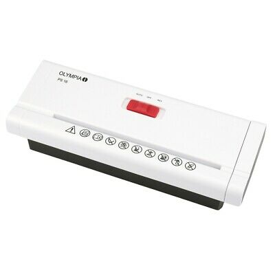 Olympia Ps 16 Add on Shredder in White