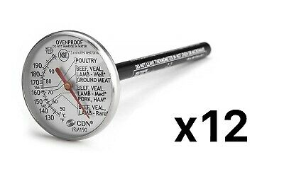 CDN ProAccurate® Insta-Read® Ovenproof Thermometer - Model: IRM190 (Pack of 12)