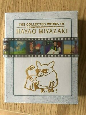 Completed Works of Hayao Miyazaki Blu-Ray 11 Films!