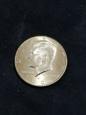 2005 P President Kennedy Half Dollar Fifty Cent Coin Money U.S. Mint Roll Coins