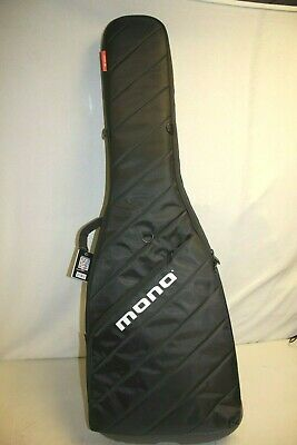 MONO Vertigo Bass Guitar Case Black Electric Backpack Portable Soft Gig Bag M80