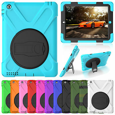 Heavy Duty Hybrid Shockproof Case Cover For New iPad 5th 6th Gen 9.7 2018/2017