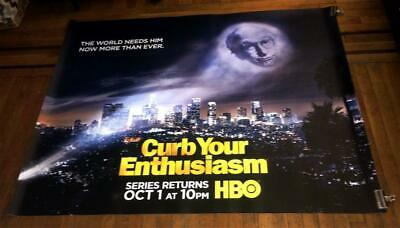 HBO CURB YOUR ENTHUSIASM LARRY DAVID  5ft Subway Poster SEASON 9 2017