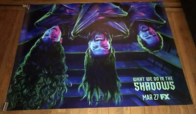 Fx What We Do In The Shadows 5Ft Subway Poster 2019 Vampires Vampire