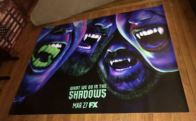 Fx What We Do In The Shadows #2 5Ft Subway Poster 2019 Vampires Vampire