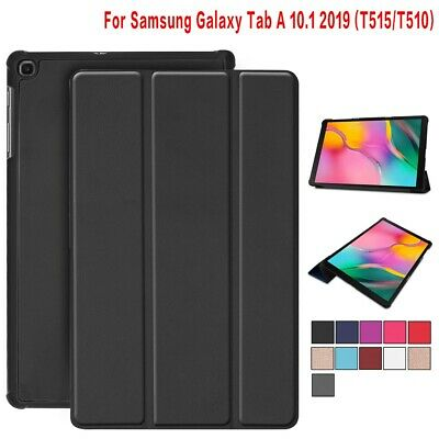 For Samsung Galaxy Tab A 10.1(2019)T510/T515 Smart Leather Trifold Stand Case
