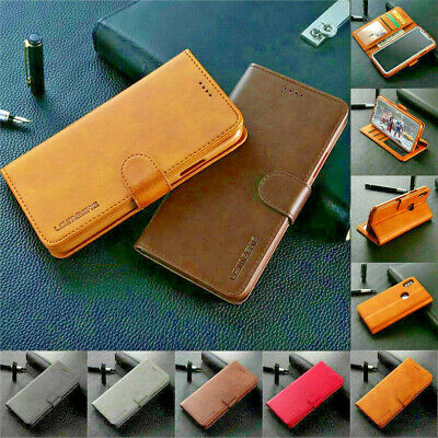 For Samsung Galaxy Note9 8 /A8 Plus 2018 Magnetic Flip Leather Wallet Stand Case