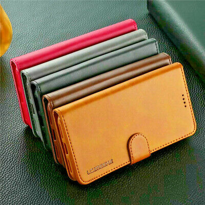 For Samsung Galaxy S9/S8/S7S/S6Edge Magnetic Flip Leather Wallet Stand Case Cove