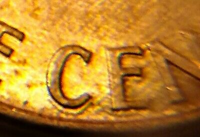 1993 D Lincoln Double stamped Memorial penny- Error