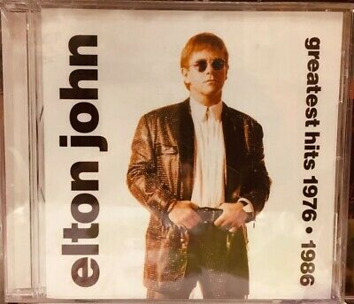 CD Elton John (Greatest Hits 1976-1986)