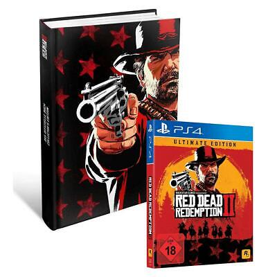 Red Dead Redemption 2 II Ultimate Edition + Lösungsbuch Collectors Edition OVP