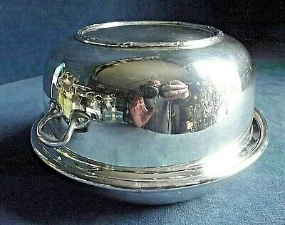 SUPERB ~ SILVER Plated ~ Muffin SERVING Dish ~ c1920