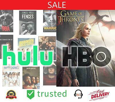 HULU PREMIUM ACCOUNT 🔥 NO Commercials HBO ADD-ON 🔥 NOT SHARED + FREE GIFT