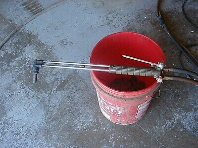 Vintage TORCHWELD Oxy- Acetylene  Torch Handle Head Mixer Welding Works