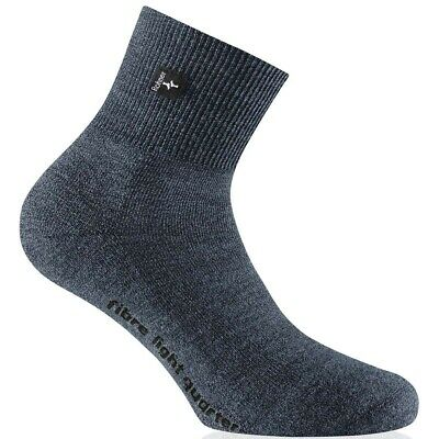 Rohner Fibre light quarter Wandersocken blau