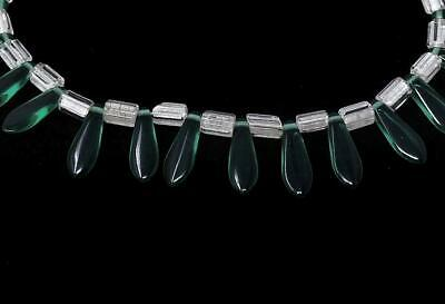 Green Translucent Bohemian Trade Beads Africa SALE WAS $39.00