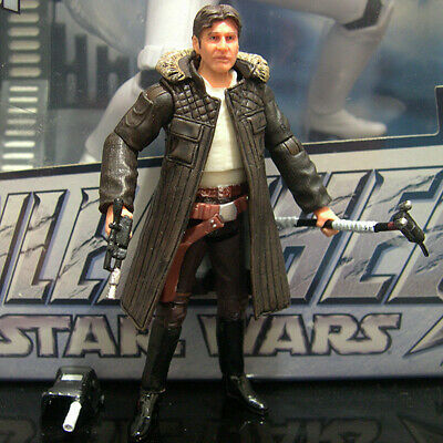 """STAR WARS vintage collection HAN SOLO 3.75"""" photo real Hoth Echo Base ESB VC03"""