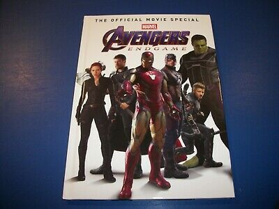 Avengers Endgame: Official Movie Special Hardcover Book NM 1st Print Marvel WOW!