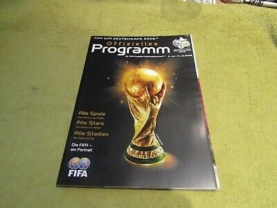 FIFA 2006 World Cup in Germany Official Tournament Programme - German Edition