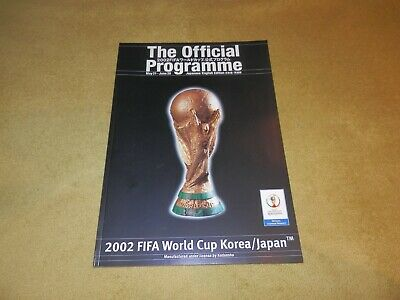 FIFA 2002 World Cup in Korea/Japan Tournament Official Programme