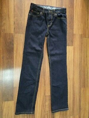 CAT & JACK Boys Jeans  Denim Straight Leg Blue Stain Release Size 12