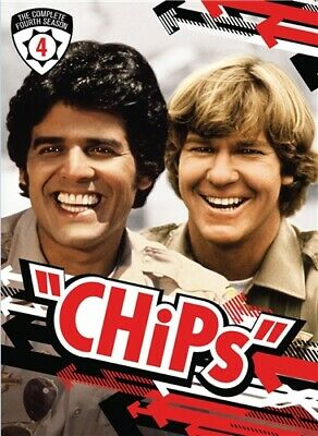 CHIPS COMPLETE FOURTH SEASON 4 New Sealed 5 DVD Set