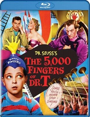 THE 5000 FINGERS OF DR T Sealed New Blu-ray Dr Seuss