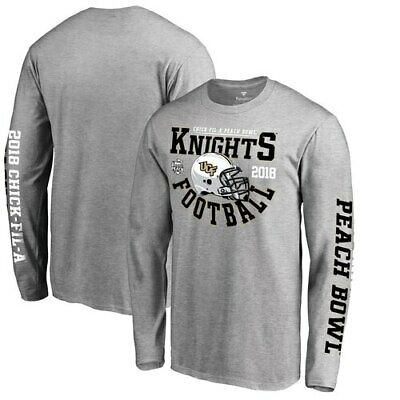 check out 43872 c7222 UCF Knights Fanatics Branded 2018 Peach Bowl Bound Down Long Sleeve T-Shirt  -