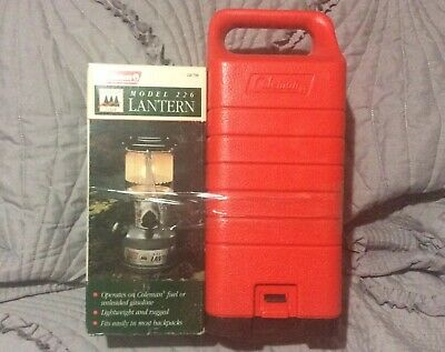 COLEMAN  MODEL 226 LANTERN With Carrying Case NIB