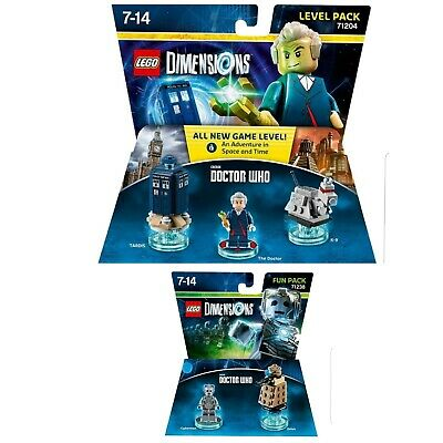 Lego Dimensions 71204 & 71238 - DOCTOR  WHO - level & fun pack - BNIP