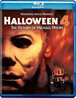 HALLOWEEN 4 THE RETURN OF MICHAEL MYERS New Sealed Blu-ray