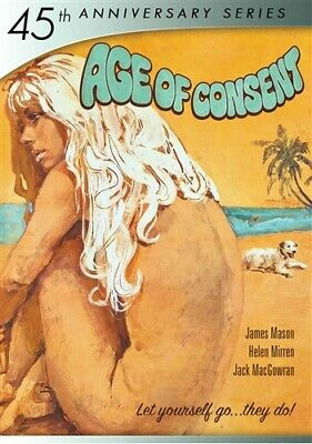 AGE OF CONSENT New Sealed DVD 45th Anniversary Series James Mason Helen Mirren