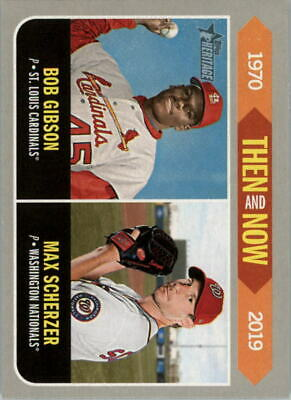 2019 Topps Heritage Baseball Then and Now Insert Singles - You Choose