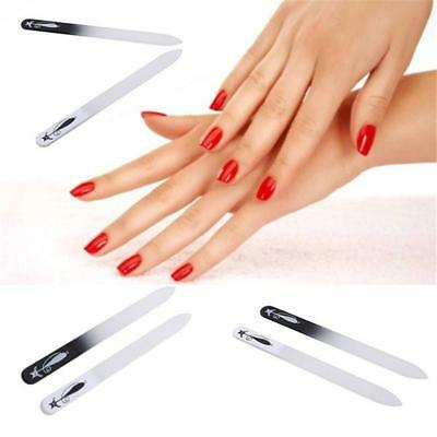 Cat Printing In Case Professional Double Sided Glass Nail Files SALE H