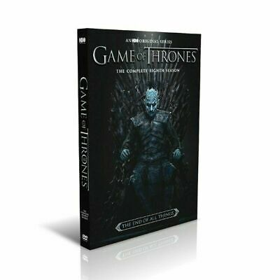 Game of Thrones: The Complete Last Season 3-Disc Box Set New