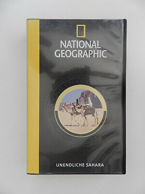 VHS Video Kassette National Geographic Unendliche Sahara