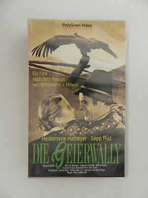VHS Video Kassette Die Geierwally Heidemarie Hatheyer Sepp Rist