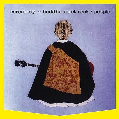 people/ ceremony - buddha meets rock-- papersleeve CD