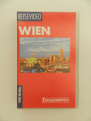 VHS Video Kassette Wien Reisevideo Bassermann