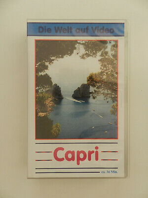 VHS Video Kassette Capri Die Welt auf Video