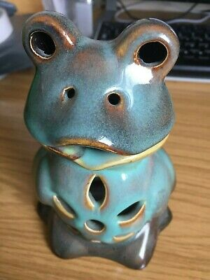 Oil Burner - Ceramic Frog - Collectable