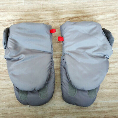Thick Warm Winter Cover Hand Muff Baby Carriage Gloves Waterproof Stroller