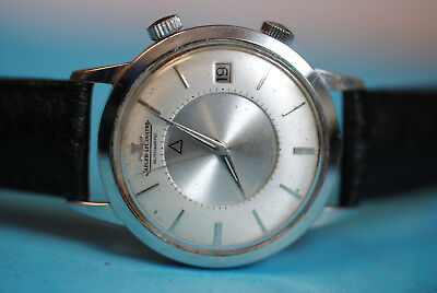Early Jaeger le Coultre Memovox Automatic Steel from the 60ern