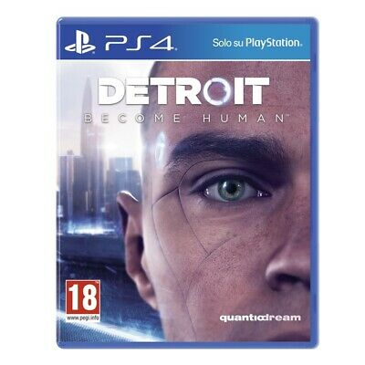 Sony Detroit: Become Human, PS4 videogioco PlayStation 4 Basic ITA