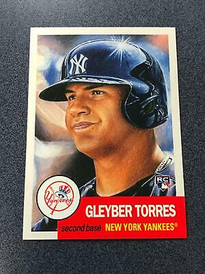 2018 2019 Topps Living Set #34 GLEYbER TORRES New York Yankees NRMT/MT+ (JU15)