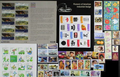 US 2011 Commemorative Year Set 105 stamps including Sheets, Mint NH, see scans